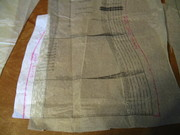 Horse show jacket alterations for a plus size client