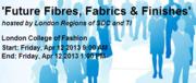 Future Fibres, Fabrics & Finishes Seminar