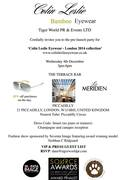 Colin Leslie Eyewear 2014 Collection Launch Party