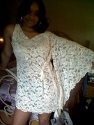_lace one sleeve