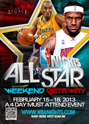 NBA NIGHTS: NBA ALL STAR WEEKEND 2013 GETAWAY & PARTIES