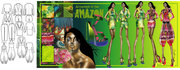 """""""Afternoon in the Amazon"""" Second View- Fashion Design"""