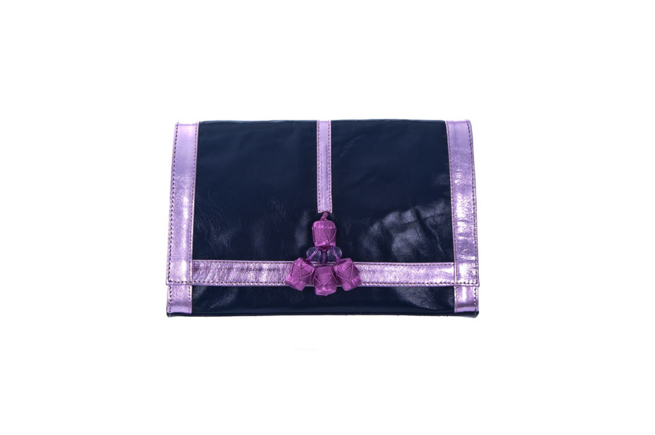 Layla Bag marine blue and violet, Collection Bags:  The One Thousand and One Night.