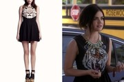 Lucy Hale With Maykool Tiger Dress