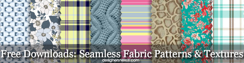 Free Seamless Fabric Patterns & Fabric Textures