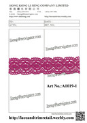 Crochet Lace Art No.:A1019-1