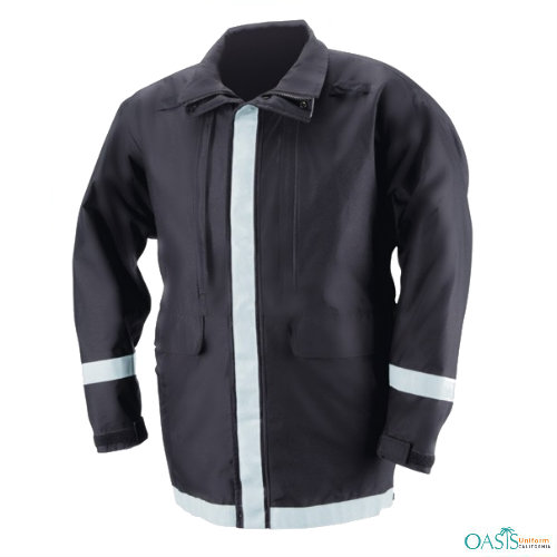 Black Classic Safety Jacket