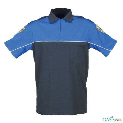 Royal Blue-Navy Knit Outlet Shirts Supplier