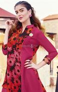 Georgette Kurta Designs With Latest Patterns To Pair With Denim Pants