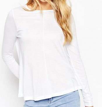 Perfect White Womens Top