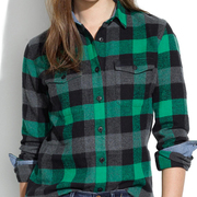 Green-and-and-Black-and-Grey-Flannel-Shirt