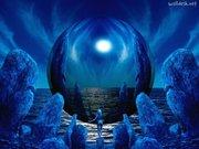Vibração azul