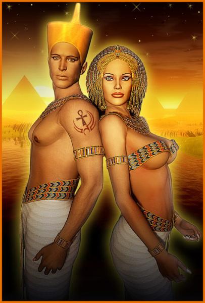 EgyptianKingandQueen