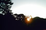 Pôr do sol em Itariri