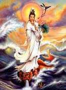 Kuan Yin Deusa da Misericórdia 7 raio