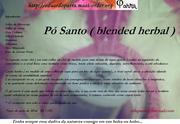 Pó santo - blended herbal