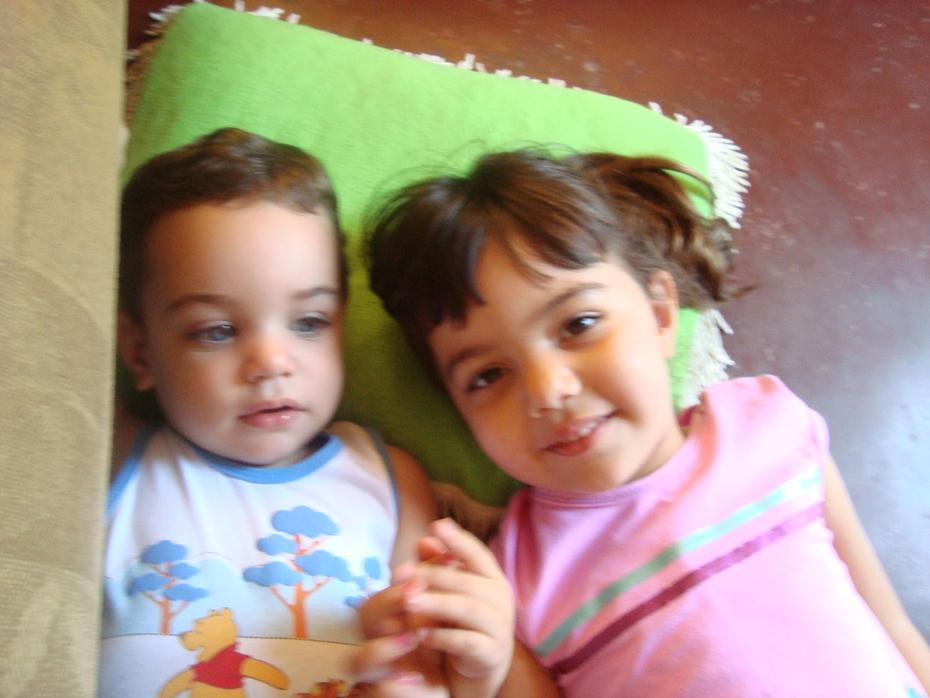 Laurinha e Gabriel
