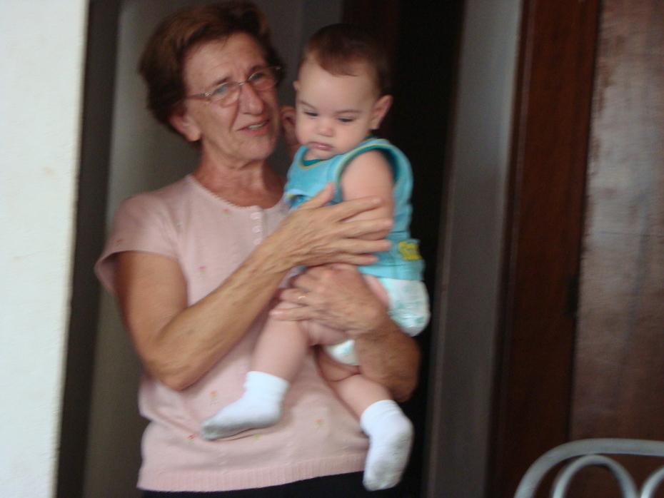 Mãezinha e Gabriel