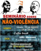 SEMINARIO SOBRE A NAO VIOLENCIA