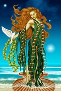 Afrodite deusa do amor