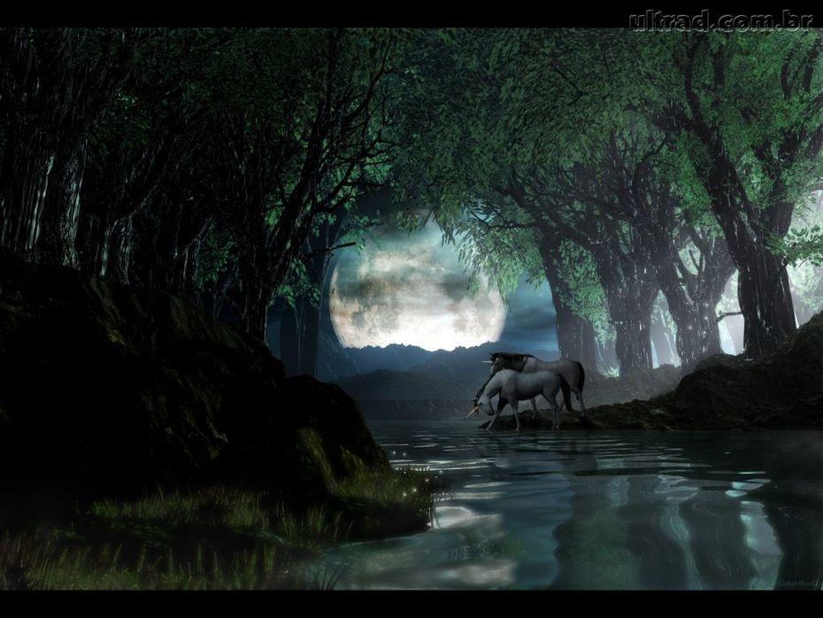Entrada para o vale dos unicornios