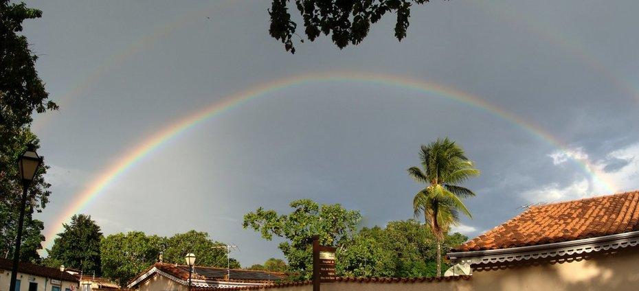 Arco Iris anunciando a chegada de 11:11:11
