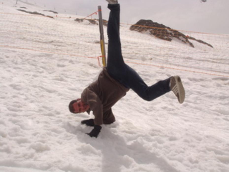 capoeira Brasil em plena neve!!!!!!!!