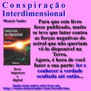 Sorteio de 5 exemplares do livro Conspiração Interdimensional