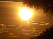 Sol amanhecendo Sampa 04.12.2014