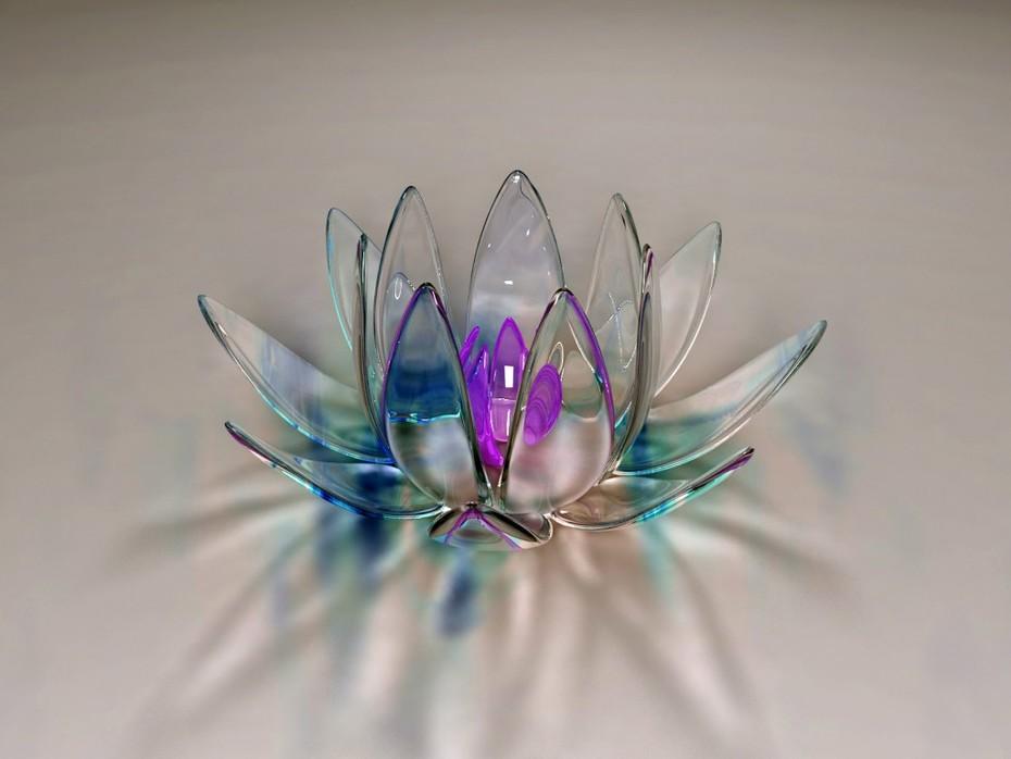 lirio de cristal