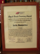 award from Guardian Angels