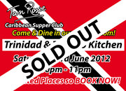 Trinidad & Tobago Kitchen Saturday 23rd June 2012