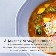 Southbound's supper club - A Journey Through Summer