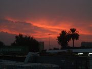 Sunset in Baghdad