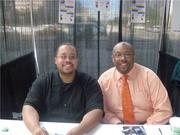 ME AND MY BROTHER MINISTER BRYANT TUCKER IN DETROIT