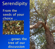 Edublogs - Serendipity (PD out of a blue sky)