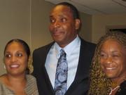 Nicole, Kelvin Grant (promoter) & Vivian