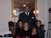 Me and my grandchildren.