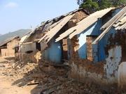 Destroyed houses of Poposi village -Ponuel