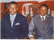 The Bishop and Pst. Francis Ashemidok