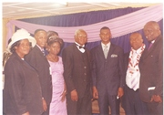 The Bishop with His Guest Bishop Obi and other
