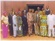 The Bishop with the Kogi Pastors