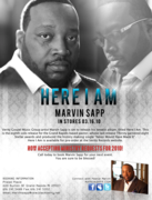 Marvin Sapp Booking Information