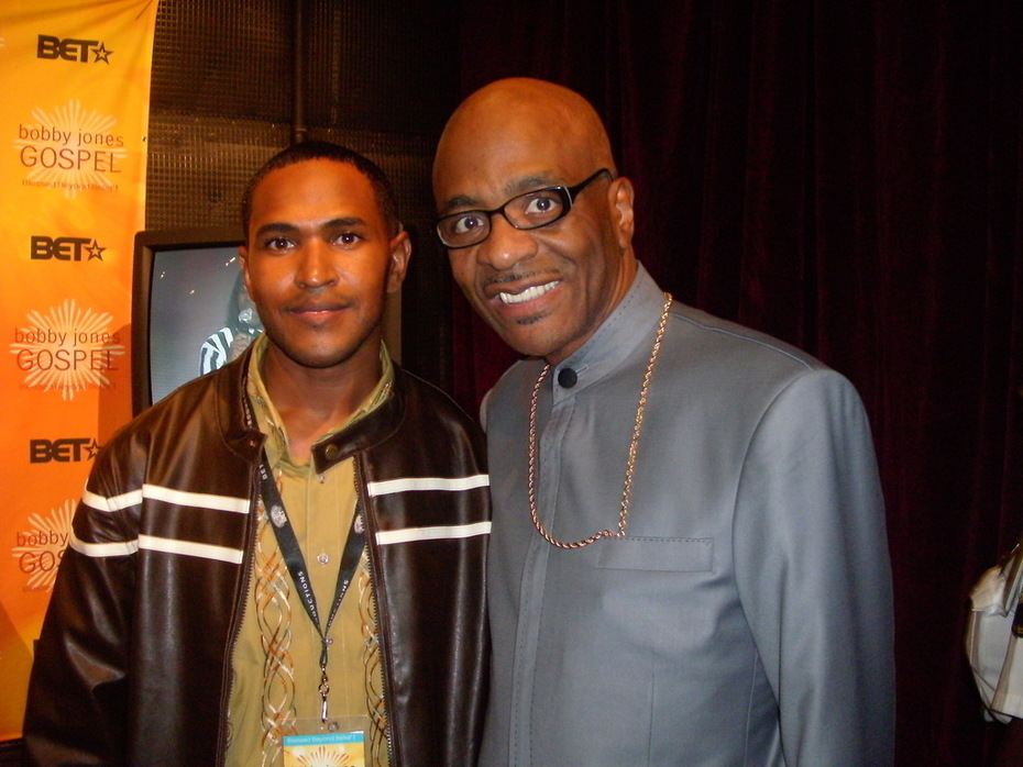 Me and Bishop Larry Trotter