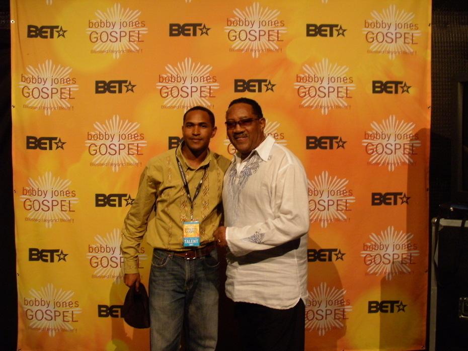 Me and Dr. Bobby Jones