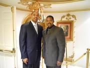 Pastor Edwards & Mark Jackson