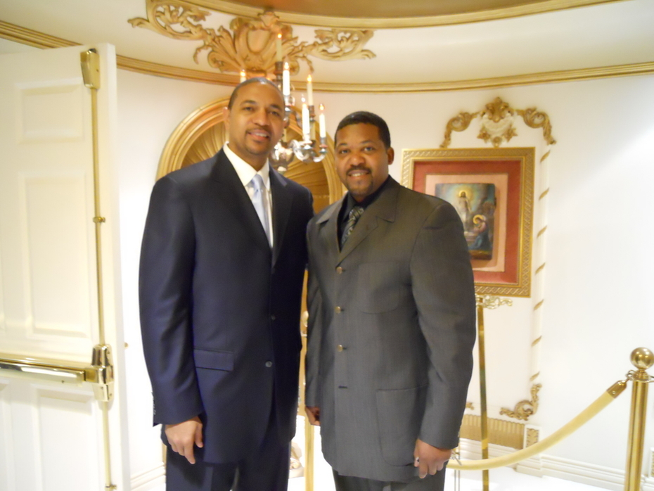 Pastor Edwards & Mark Jackson