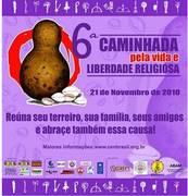 6ª Caminhada pela Liberdade Religiosa em Salvador