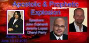 APOSTOLIC AND PROPHETIC EXPLOSION