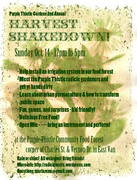 2nd Annual Purple Thistle Gardens Harvest Shakedown!